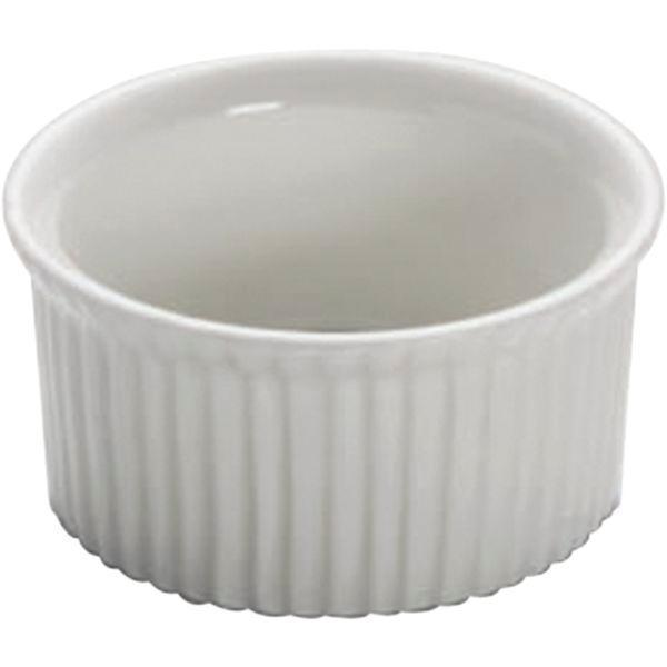 Miska zapékací kulatá dip 6,5 cm 60 ml na paštiku souflé Basic Ramekin