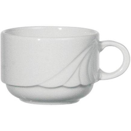 Šálek na kávu 0,18 l, stohovatelný, vhodné doplnit podšálkem č. 221193758 nebo 221193795, Ambiente Form 776 Eschenbach