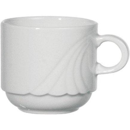 Šálek na kávu 0,20 l stohovatelný, vhodné doplnit podšálkem č. 221193795, Ambiente Form 776 Eschenbach