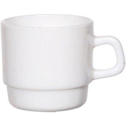 Šálek na kávu 0,22 l, stohovatelný, vhodné doplnit podšálkem č. 222212608, Hotelerie Arcoroc
