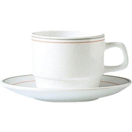 Šálek na kávu 0,19 l, stohovatelný, vhodné doplnit podšálkem č. 222212517, Valerie Arcoroc