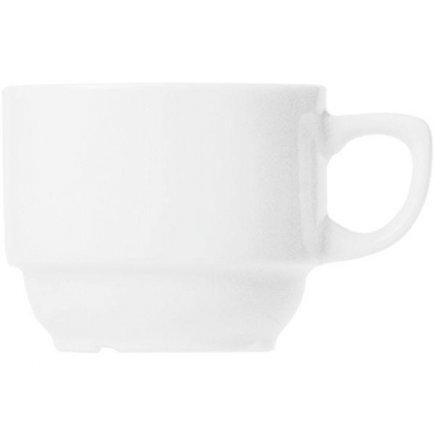 Šálek na kávu stohovatelný 0,18 l, vhodné doplnit podšálkem č. 221118294, Praktik Thun
