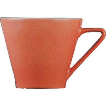 Šálek na kávu 0,21 l, vhodné doplnit podšálkem č. 221157099, porcelán, Daisy, lososový