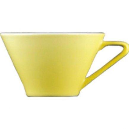 Šálek na kávu 0,1 l, vhodné doplnit podšálkem č. 221157058, porcelán, Daisy, vanilková, žlutá