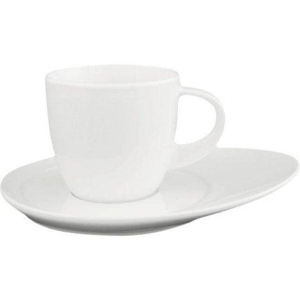 Šálek na kávu 0,22 l, porcelán, vhodné doplnit podšálkem č. 221193829 nebo 221193829, model Universo, ESCHENBACH