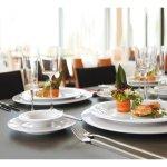 Podšálek Savoy 164 mm k misce na polévku 221168083 a šálku č. 221168070, bílý, elegantní, luxusní, Seltmann