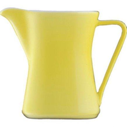 Konvička na mléko s uchem kávu 0,30 l Daisy Lilien žlutá