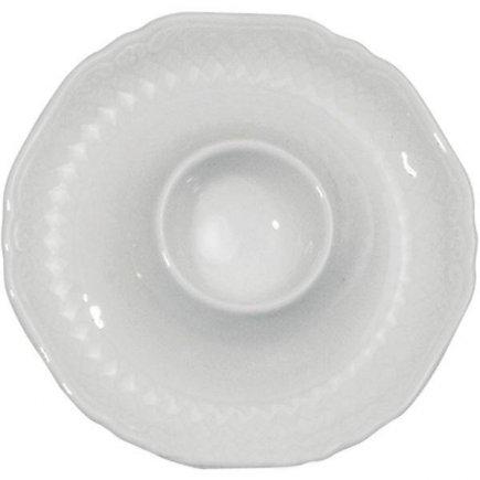 Stojánek na vajíčko porcelán Eschenbach La Reine, bílý