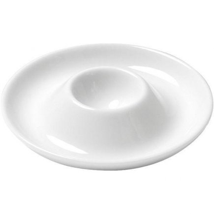 Stojánek na vajíčko porcelán Henneberg Alice, bílý