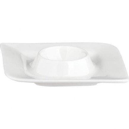 Stojánek na vajíčko porcelán Gastro Fantastic, bílý