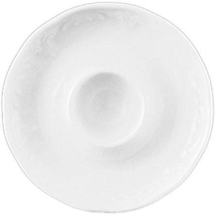 Stojánek na vajíčko porcelán Lilien Bellevue, bílý