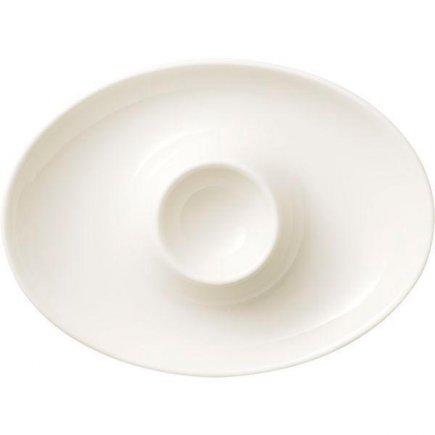 Stojánek na vajíčko porcelán Villeroy & Boch Gourmet, krémový