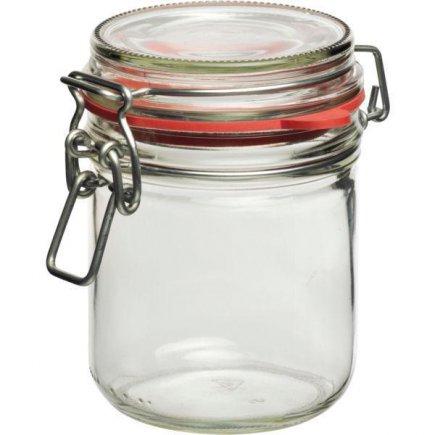 Zavařovací sklenice obloučkový uzávěr těsnění 400 ml Gastro