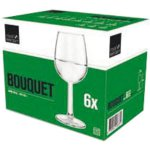 Sklenice na víno Royal Leerdam Bouquet 450 ml cejch 1/8 + 1/4 l
