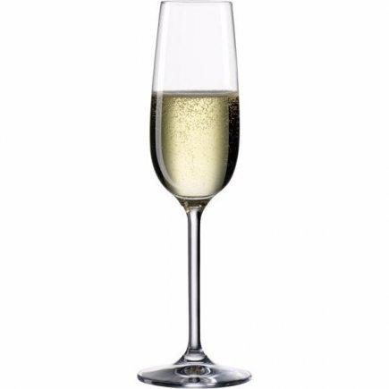 Sklenice na sekt šampaňské Bohemia Cristal Clara 190 ml