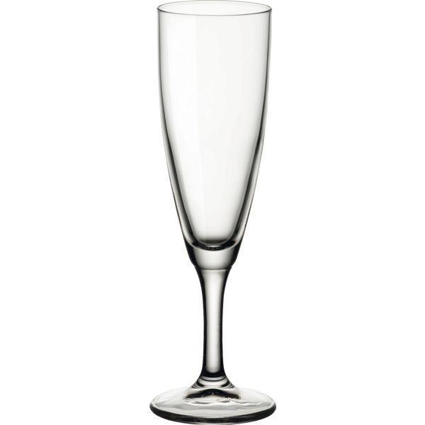 Sklenice na sekt šampaňské, 0,15 l, s cejchem 0,1, Bormioli Rocco