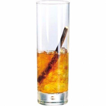 Sklenice na nealko long drink Durobor Disco 300 ml cejch 0,2 l, 2+4 cl
