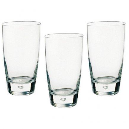 Sada 3 sklenic na nealko Bormioli Rocco Luna 340 ml