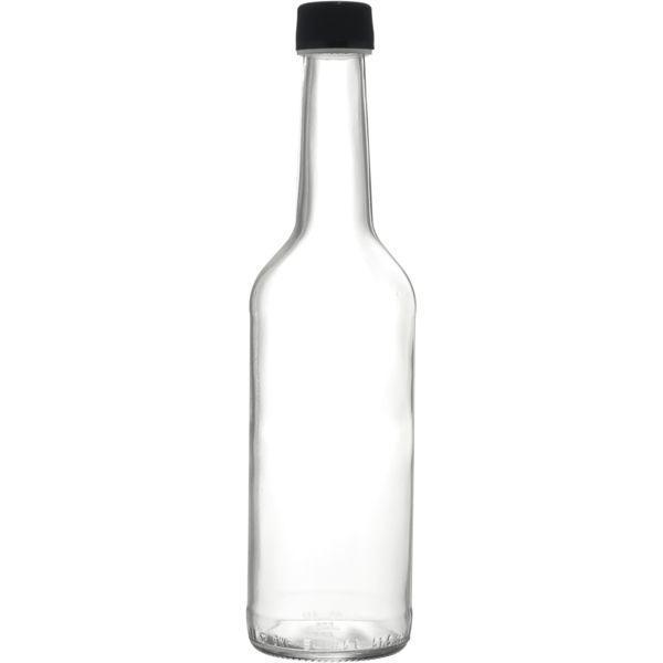Láhev na alkohol, ocet, pálenku, 0,5 l, s uzávěrem