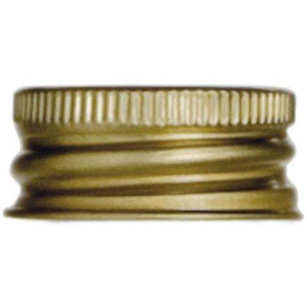 Šroubovací zátky, 10ks, zlaté