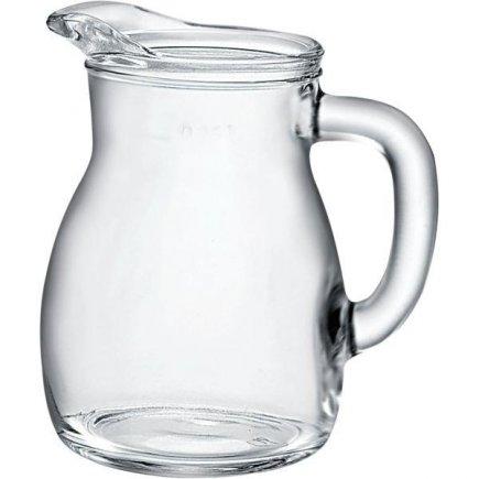 Džbán skleněný Bormioli Rocco Bistrot 250 ml cejch 1/4 l