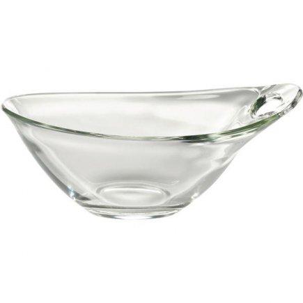 Miska oválná skleněná, 0,38 l, Practica