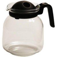 Konvice na kávu s filtrem ve víčku 1,5 l plastové držadlo vhodné do mikrovlnky