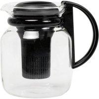Konvice s černým plastovým filtrem 1200 ml Samba Radwyck