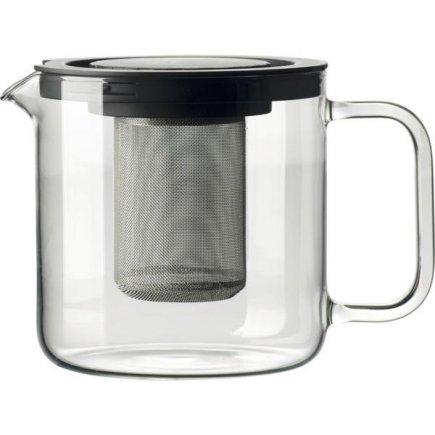 Konvice na čaj s kovovým sítkem 1,3 l Bohemia Crystal