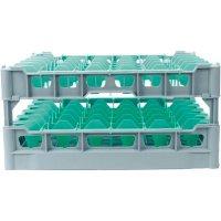 Koš na Sklenice pro 36ks 75x75 mm pro např ilios č.6 Kit fries rack system