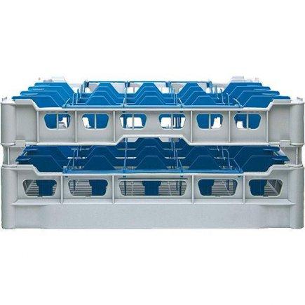 Koš na sklenice do myčky Kit s otvory 90x90 mm, CLIX 25-170, výška sklenic 140-170 mm