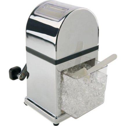 drtič ledu včetně lopatky, nádoba na led