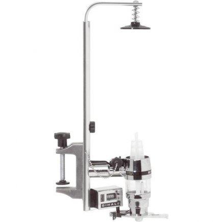 dávkovač nápojů 2cl chrom pro láhve 33-48 cm s počítadlem Gihale