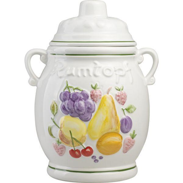 hrnec na boule bowle dekor ovoce 5 l koktejly míchané nápoje