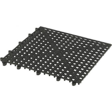 Barová podložka pro sklenice Paderno 30x30 cm, černá