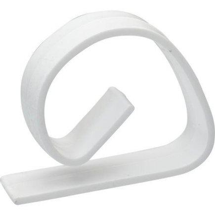 Držák na ubrus plast Gastro 20 ks, bílý