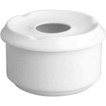 Popelník venkovní do větru Gastro Snack 10 cm, bílý