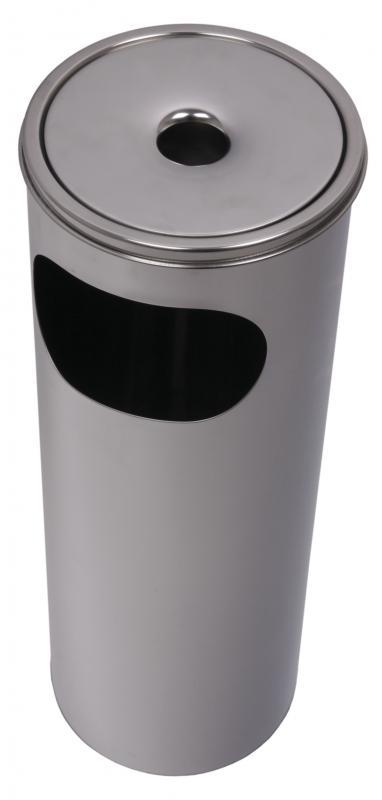 Gastro Popelník a odpadkový koš venkovní nerez 58 cm