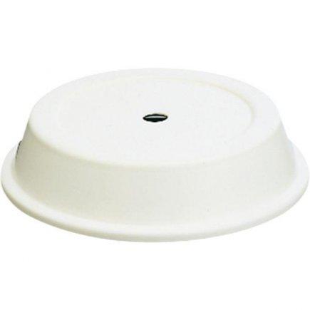 Poklop na talíře s otvorem Hepp 26 cm, bílý