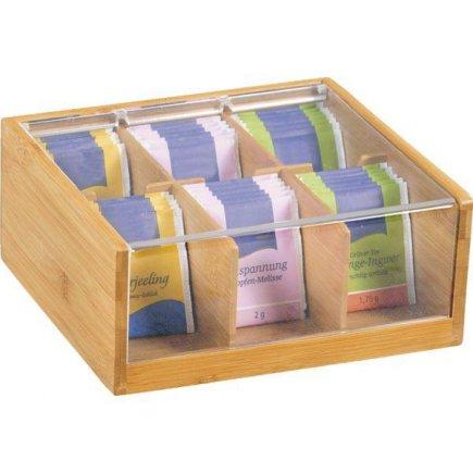 Box na čaje Kesper 22x21 cm