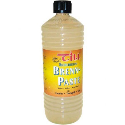 Hořlavá pasta v láhvi 1 l