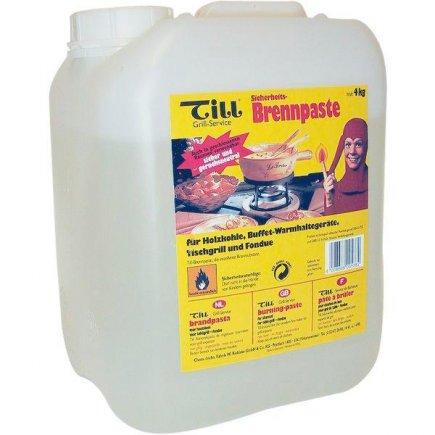 Hořlavá pasta kanystr 4 kg