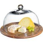 Servírovací podnos na sýry Zassenhaus 30 cm, s poklopem