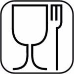 Servírovací Tác Podnos sushi obdélník melamin GN 1/1 melamin černá bufet párty APS