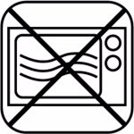 Servírovací Tác Podnos sushi obdélník melamin GN 1/2 melamin černá bufet párty APS