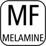 Tác GN 2/4 melamin 530x162 do stojanu 227772466 sushi černý APS