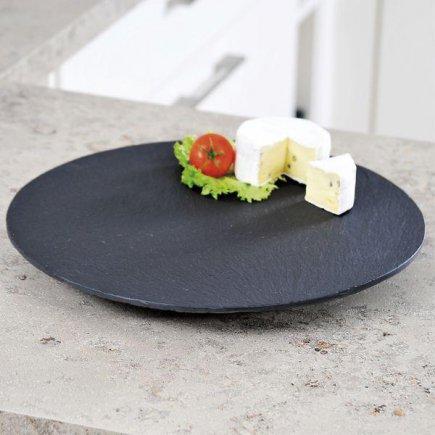 Servírovací Tác Podnos Kesper 30 cm břidlice