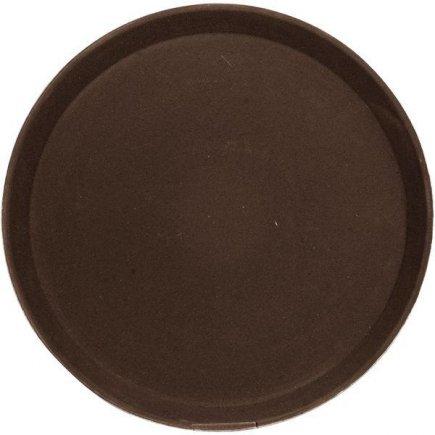 Tác Podnos protiskluzový pogumovaný povrch 35 ,6 cm hnědý Cambro