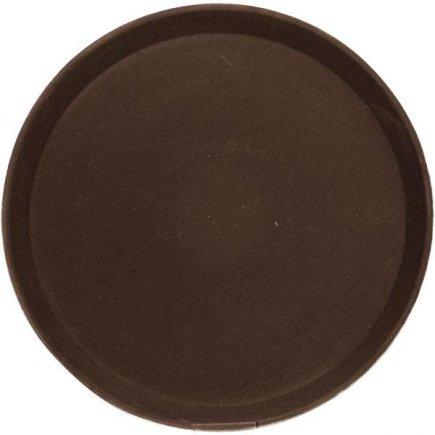 Tác Podnos protiskluzový pogumovaný povrch 40,5 cm hnědý Cambro