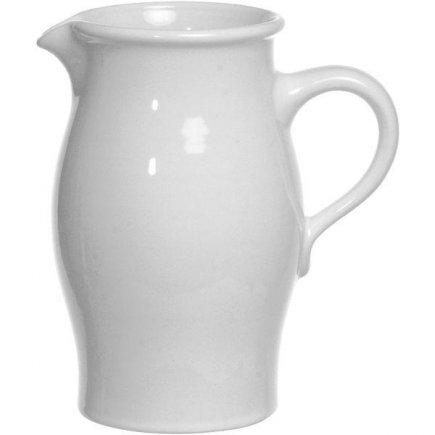 Džbán na mléko Gastro 1500 ml, bílý